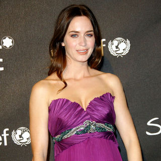Emily Blunt in Montblanc Signature For Good Charity Gala - Arrivals