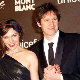 Milla Jovovich, Paul W.S. Anderson in Montblanc Signature For Good Charity Gala - Arrivals