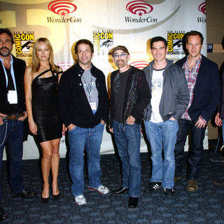 Billy Crudup, Jeffrey Dean Morgan, Malin Akerman, Zack Snyder, Jackie Earle Haley, Patrick Wilson, Dave Gibbons in Wonder Con - Day 2