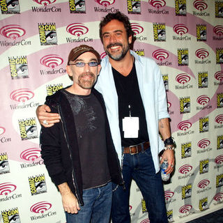 Jackie Earle Haley, Jeffrey Dean Morgan in Wonder Con - Day 2