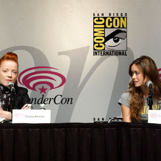 Shirley Manson, Summer Glau in Wonder Con - Day 3
