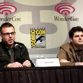 Karim Zreik, Dan Shotz in Wonder Con - Day 3