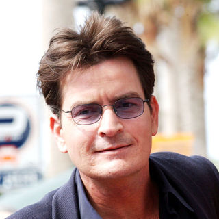 Charlie Sheen - Chuck Lorre Receives A Star On The hollywood Walk Of Fame