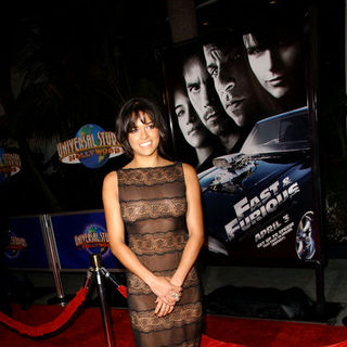 "Michelle Rodriguez in ""Fast and Furious"" Los Angeles Premiere - Arrivals"