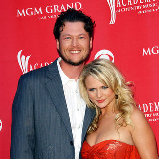 Blake Shelton, Miranda Lambert in 44th Annual Academy Of Country Music Awards - Arrivals
