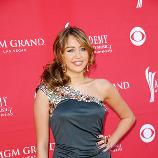 Miley Cyrus in 44th Annual Academy Of Country Music Awards - Arrivals