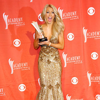 Julianne Hough in 44th Annual Academy Of Country Music Awards - Press Room