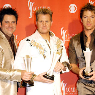 Rascal Flatts in 44th Annual Academy Of Country Music Awards - Press Room