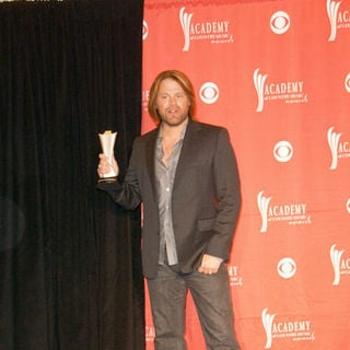 James Otto in 44th Annual Academy Of Country Music Awards - Press Room