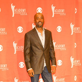 Darius Rucker in 44th Annual Academy Of Country Music Awards - Press Room
