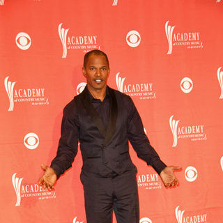 Jamie Foxx in 44th Annual Academy Of Country Music Awards - Press Room