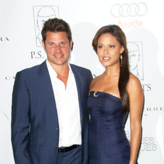 Nick Lachey, Vanessa Minnillo in 14th Annual Los Angeles Antiques Show Opening Night Preview Party Benefiting P.S. Arts - Arrivals