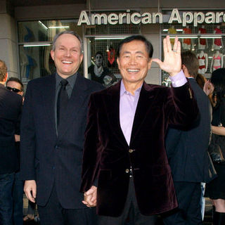 "Brad Altman, George Takei in ""Star Trek"" Los Angeles Premiere - Arrivals"