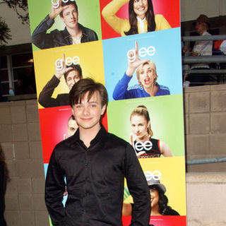 "Chris Colfer in ""Glee"" Los Angeles Premiere Event - Arrivals"