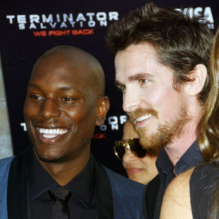 "Christian Bale, Tyrese Gibson in ""Terminator Salvation"" Los Angeles Premiere - Arrivals"
