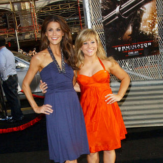 "Samantha Harris, Shawn Johnson in ""Terminator Salvation"" Los Angeles Premiere - Arrivals"