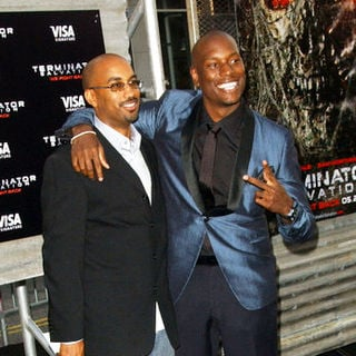 "Tyrese Gibson, Tim Story in ""Terminator Salvation"" Los Angeles Premiere - Arrivals"