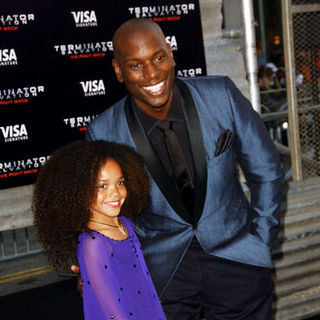 "Jadagrace, Tyrese Gibson in ""Terminator Salvation"" Los Angeles Premiere - Arrivals"