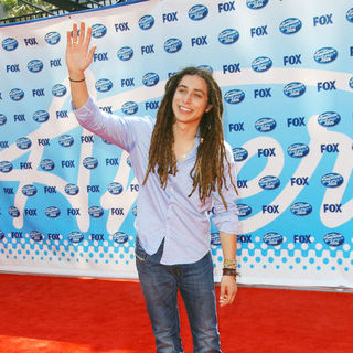 Jason Castro in 2009 American Idol Finale - Arrivals
