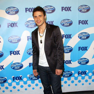 Kris Allen in 2009 American Idol Finale - Press Room