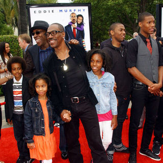 "Eddie Murphy, Arsenio Hall in ""Imagine That"" Los Angeles Premiere - Arrivals"