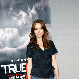 "Saffron Burrows in HBO's ""True Blood"" Season Two Los Angeles Premiere - Arrivals"