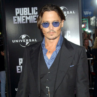 "Johnny Depp in 2009 Los Angeles Film Festival - ""Public Enemies"" Premiere - Arrivals"