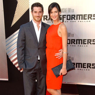 "Dave Annable, Odette Yustman in 2009 Los Angeles Film Festival - ""Transformers: Revenge of the Fallen"" Premiere - Arrivals"