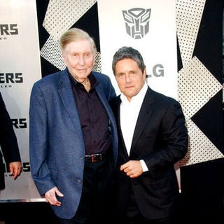"Sumner Redstone, Brad Grey in 2009 Los Angeles Film Festival - ""Transformers: Revenge of the Fallen"" Premiere - Arrivals"
