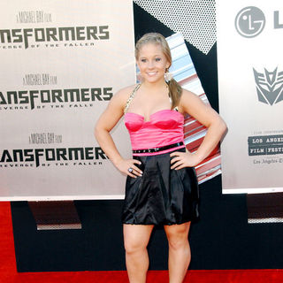 "Shawn Johnson in 2009 Los Angeles Film Festival - ""Transformers: Revenge of the Fallen"" Premiere - Arrivals"