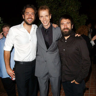 Zachary Levi, Doug Jones, Joshua Gomez in 35th Annual Saturn Awards AfterParty Sponsored by Highlander Films
