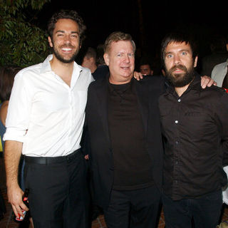 Zachary Levi, Len McLeod, Joshua Gomez in 35th Annual Saturn Awards AfterParty Sponsored by Highlander Films