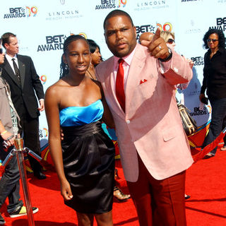 Anthony Anderson in 2009 BET Awards - Arrivals