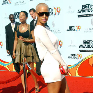 Amber Rose in 2009 BET Awards - Arrivals