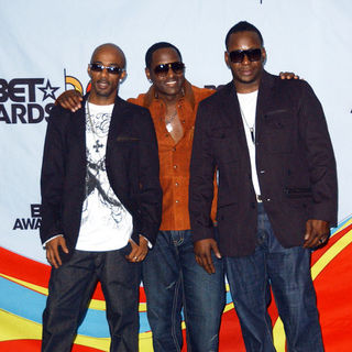 New Edition in 2009 BET Awards - Press Room - ALO-074196