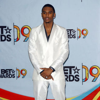 Trey Songz in 2009 BET Awards - Press Room - ALO-074209