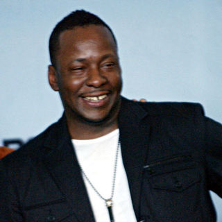Bobby Brown in 2009 BET Awards - Press Room