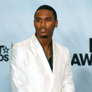 Trey Songz in 2009 BET Awards - Press Room - ALO-074240