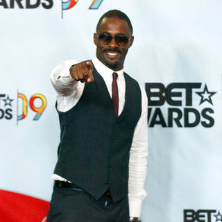Idris Elba in 2009 BET Awards - Press Room