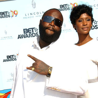 Rick Ross in 2009 BET Awards - Arrivals