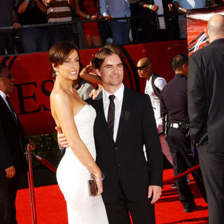 Jeff Gordon, Ingrid Vandebosch in 17th Annual ESPY Awards - Arrivals