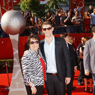 Michael Phelps, Deborah Phelps in 17th Annual ESPY Awards - Arrivals