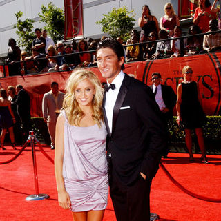 Nastia Liukin, Evan Lysacek in 17th Annual ESPY Awards - Arrivals
