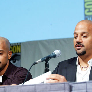 Allen Hughes, Albert Hughes in 2009 Comic Con International - Day 2