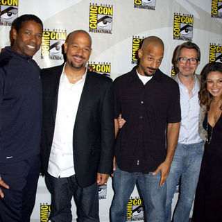 Denzel Washington, Allen Hughes, Albert Hughes, Gary Oldman, Mila Kunis in 2009 Comic Con International - Day 2