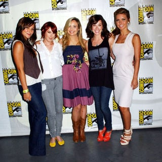 Rumer Willis, Margo Harshman, Audrina Patridge, Leah Pipes, Briana Evigan in 2009 Comic Con International - Day 1