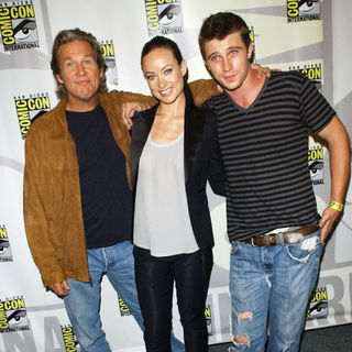 Jeff Bridges, Olivia Wilde, Garrett Hedlund in 2009 Comic Con International - Day 1