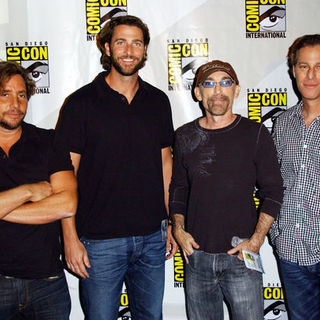 Andrew Form, Jackie Earle Haley, Bradley Fuller in 2009 Comic Con International - Day 2