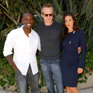 Tyrese Gibson, Paul Bettany, Jennifer Connelly in 2009 Comic Con International - Day 2