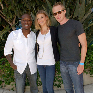 Tyrese Gibson, Adrianne Palicki, Paul Bettany in 2009 Comic Con International - Day 2